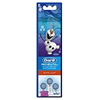 Oral-B Pro-Health Jr. Sensitive Clean Disney Frozen Kids Replacement Toothbrush Heads 3 Count