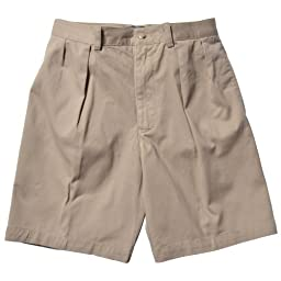 Polo Ralph Lauren Men\'s Tyler Pleated Chino Shorts 30-Khaki
