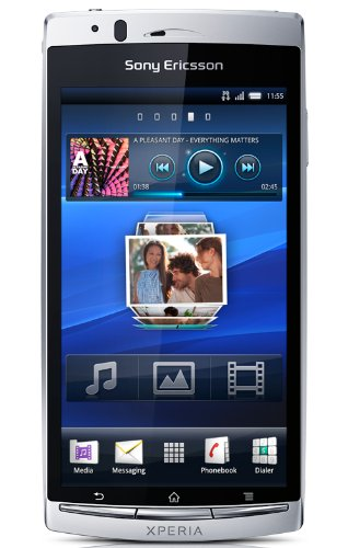Sony Ericsson Xperia Arc S mystic silver Black Friday & Cyber Monday 2014