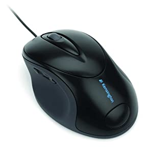 Kensington K72343US Pro Fit USB/PS2 Full Size Wired Mouse (Black)