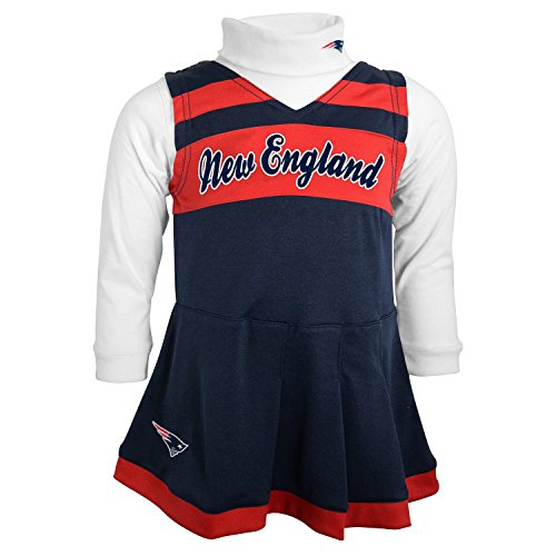 New England Patriots Kid S Cheerleader Outfit
