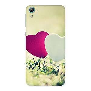 Premium Couple Heart Back Case Cover for HTC Desire 826