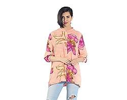 Chique Women's Shirt (peachpbs_Peach_Small)