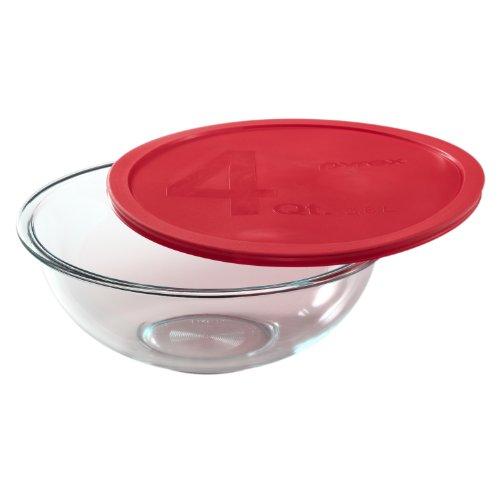 World Kitchen Pyrex Smart Essentials Mixing Bowl, 4-Quart
