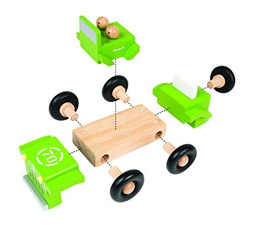 Janod 4x4 Truck Magnet Kit