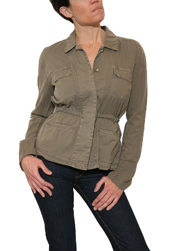 Women's James Perse Soft Utility Shirt in Marjoram