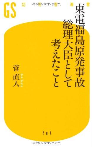 東電福島原発事故 総理大臣として考えたこと (幻冬舎新書)