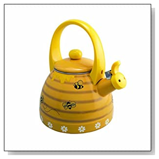 Supreme Housewares Whistling Bee Hive Tea Kettle