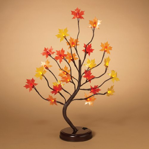 Gerson 07990 - 2084410 Battery Operated Lighted Bonsai Tree