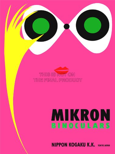 Advertising Japanese Binoculars Mikron Tokyo Japan Lips Fine Art Print Cc277