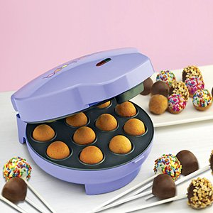 Babycakes CP-12 Cake Pop Maker, Purple, 12 Cake Pops