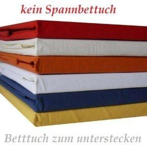 baumwolle betttuch haustuch bettlaken 150x250 cm in. Black Bedroom Furniture Sets. Home Design Ideas