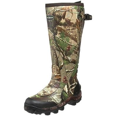 "Irish Setter Men's RutMaster WP 17"" Rubber Boot,Realtree APG Camouflage,7 E US"