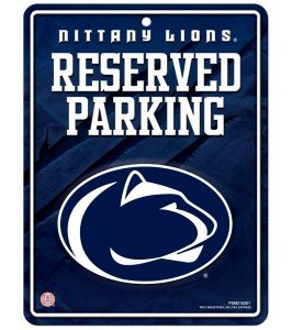 NCAA Penn State Nittany Lions Parking Sign
