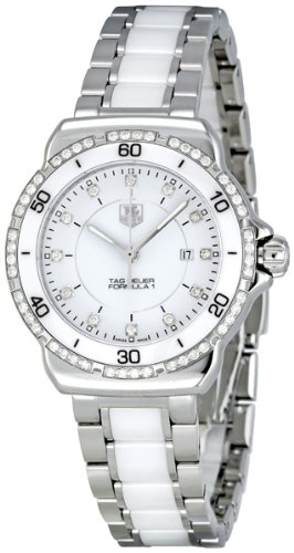 Tag Heuer Formula 1 White Diamond Dial Steel
