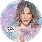 Violetta Disney - Plato melamina sin orla
