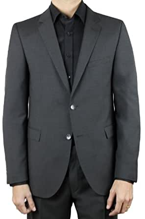 strellson men 39 s rick james suit 46v 38p grey at amazon men. Black Bedroom Furniture Sets. Home Design Ideas