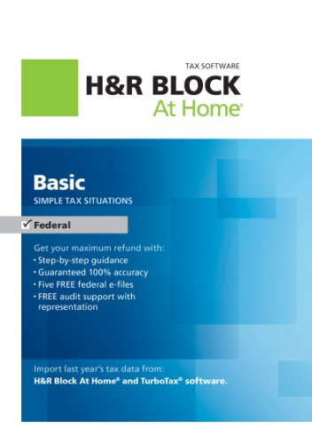 H&R Block At Home Basic 2012 [Download]