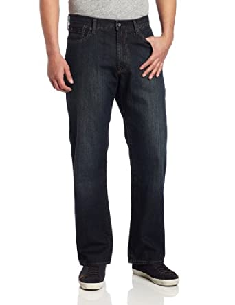 Lucky Brand Men's 181 Relaxed Straight Leg Jean In Love Train, Lovetrain, 30W x 32L