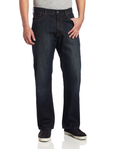 Lucky Brand Men's 181 Relaxed Straight Leg Jean In Love Train, Lovetrain, 36W x 32L