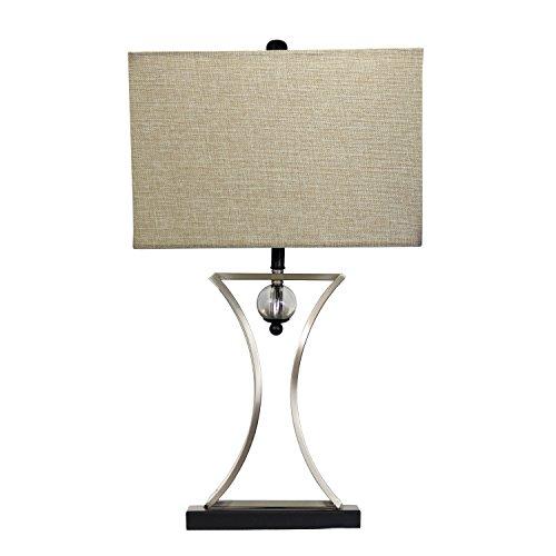 Elegant designs lt2001 chr conference room hourglass shape - Elegant table lamps for living room ...