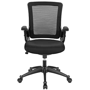 Amazon.com - Mesh Office Chair With Adjustable Arms Black