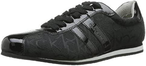 Calvin Klein George, Baskets mode homme - Noir (Bbk), 44 EU