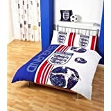 Matching Bedrooms England White Scoreboard Double Duvet Setby Matching Bedroom Sets