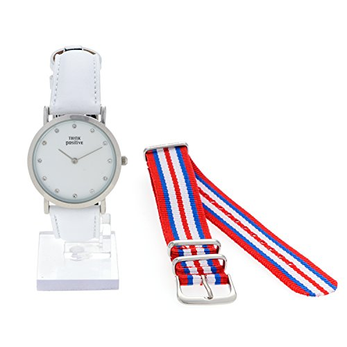 ladies-think-positiver-model-se-w96-flat-medium-steel-crystal-watch-strap-in-white-leather-made-in-i