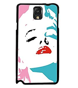 PRINTSWAG BEAUTIFUL GIRL Designer Back Cover Case for SAMSAUNG GALAXY NOTE 3