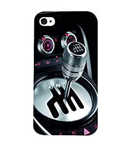 Mental Mind 3D Printed Plastic Back Cover For Iphone 4s - 3DIP4S-G697