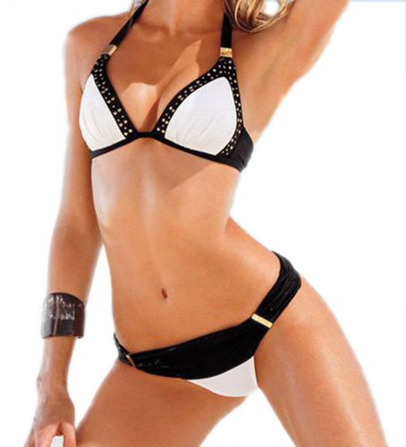 Amour Women\'s One Piece Hole type Bikini