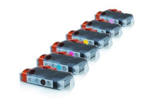 Inkadoo® Tinte passend für Canon Pixma IP 6700 D ersetzt Canon CLI-8 , CLI-8 PM0620B001 - 0625B001 , 0625 B 001 , 0625B001AA , 625 B 001 , 625B001AA - 1x Premium Drucker-Patrone Kompatibel -