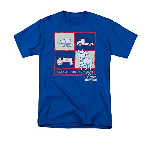 Babe Pig Family Comedy Adventure 1995 Movie Work On The Farm Adult T-Shirt Tee