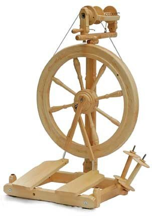Kromski Sonata Spinning Wheel Clear Finish W/Bag