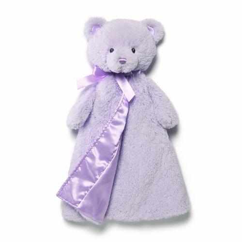 Gund Baby Gund My 1St Teddy Huggybuddy Blanket, Lavender front-841216