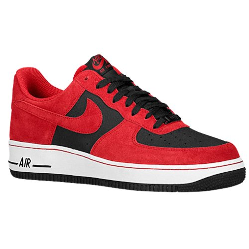 Nike Air Force 1 One Low Sneaker different colors, Color:red/black;Size EU:47.5