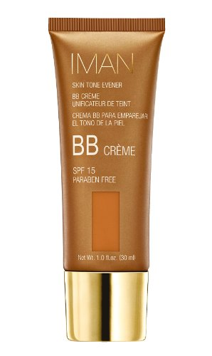 Iman Cosmetics BB Crème Unificateur de Teint SPF 15 Clay Medium deep