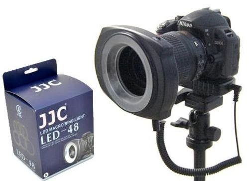 Studiohut Type B 48 Led Macro Photography Ring Light With Lens Adapter For Nikon/Canon/Sony/Pentax/Tamron/Sigma Lens