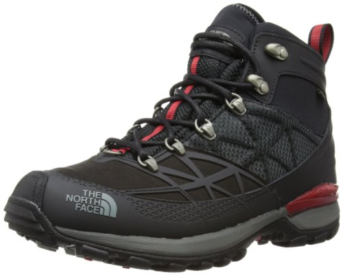 The North Face Mens Iceflare Mid GTX Snow Boots T0A1KJKX9 TNF Black/TNF Red 11 UK, 45.5 EU, 12 US Regular