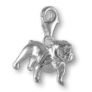 Melina Damen-Charm Anhänger englische Dogge 925 Sterling Silber 1800029