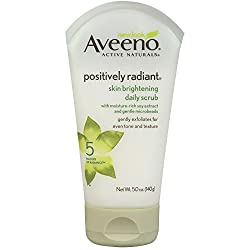 Aveeno Positively Radiant Skin Brightening Daily Scrub, 5 Ounce
