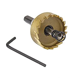 Imported Dia. 35mm Carbide Tip Hole Saw Drill Bit Cutter for Metal Stainless Steel