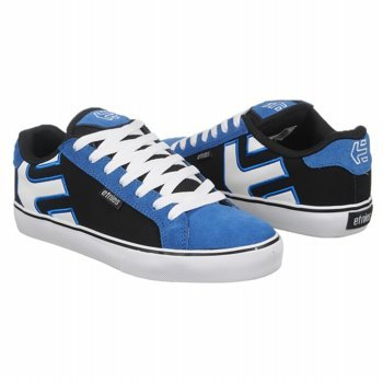 Etnies Men's Fader Vulc Skate Shoe,Blue/Black/White,9 M US