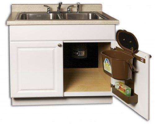 Kitchen Compost Caddy Under Sink
