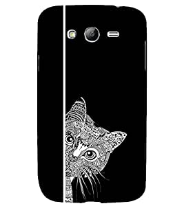 printtech Awesome Cute Cat Look Pattern Back Case Cover for Samsung Galaxy Grand Neo / Samsung Galaxy Grand Neo i9060