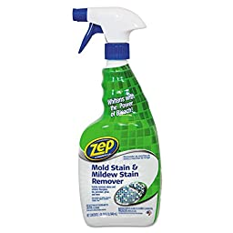ZEP Mold Stain and Mildew Stain Remover, 32 Ounce