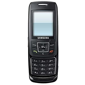 Samsung e250 Orange Pre-Pay Mobile Phone Including £10 Airtime - Black