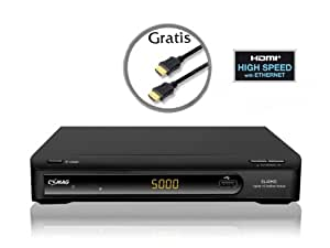 Comag SL 40 HD Satelliten Receiver (PVR-Ready, DVB-S2, SCART, HDMI, USB 2.0, inkl. HDMI Kabel) schwarz