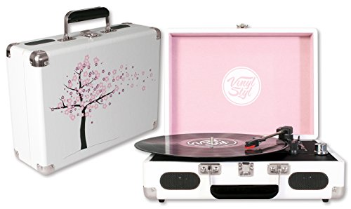 Vinyl-Styl-Groove-Portable-3-Speed-Turntable-Cherry-Blossom